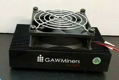 Zeus Blizzard (GAW Miners Fury) 1.3Mh/s Scrypt ASIC Miners with USB cable