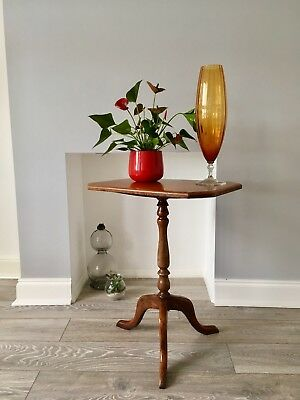 Victorian Satinwood tilt top wine or occasional table Very Rare In This Spec