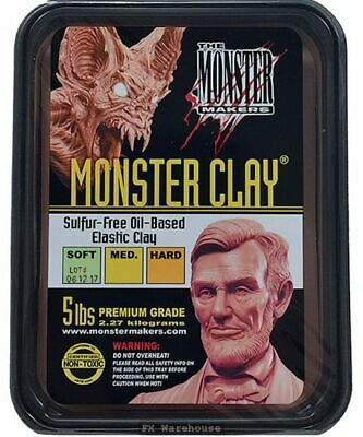Monster Clay 5lb Soft by Monster Makers Sculpting Special FX Makeup Artists