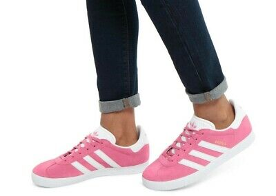 Adidas Originals Womens Girls Gazelle Trainers Shoes - Various Sizes