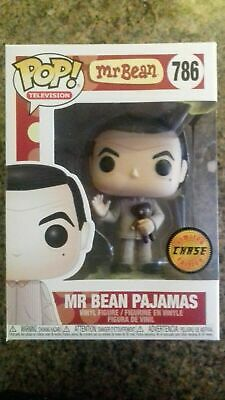 Funko Pop Television - Mr Bean Pajamas Vinyl Figure w/Teddy #786 - Chase Edition