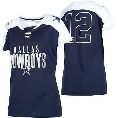 Dallas Cowboys Women's Jersey Paine V-Neck T-Shirt