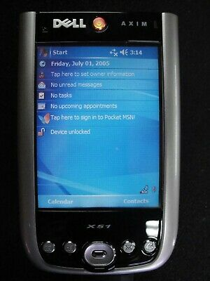 Dell Axim X51 PDA Bundle With Cradle and 512mg Compaq Flash