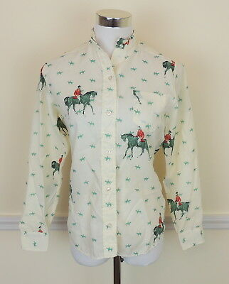 VTG Variety Sportswear Ratcatcher 30 XS Equestrian Blouse English Riders Horse