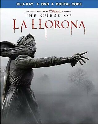 The Curse Of La Llorona(Blu-Ray+Dvd+Digital Code)W/Slipcover New
