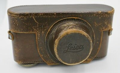 Leica SM M39 System Rangefinder Camera Fitted Leather Field Case - 25mm Nose