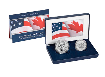 2019 Pride of Two Nations Limited Edition Two Coin Set