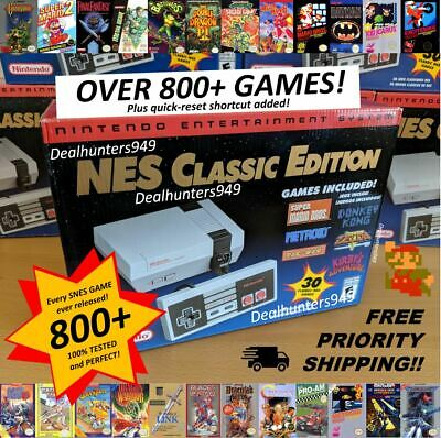 NES Professionally Modded 800+ (Every Game EVER Released) Mini Classic Nintendo