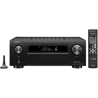 Denon AVR-X6500H 11.2 Channel 4K AV Receiver with 3D Audio | Home Theater System