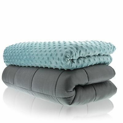 Sonno Zona Weighted Blanket Adult Size 60x80 Inches - 15 Pounds