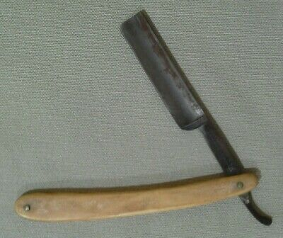 F.A. Clauberg Straight Edge Razor Tonsorial Gem (lot6718)