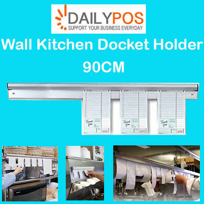 DailyPOS Wall Kitchen Docket Holder Bracket for Restaurant Cafe fish chips POS