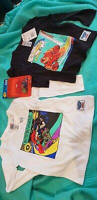 Bonds Marvel size 3 and 4 Long sleeve THOR Nwt kids plus Crayola color in pack