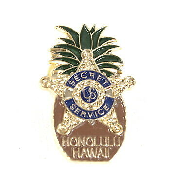 Collectibles SECRET SERVICE HAWAII PINEAPPLE PIN