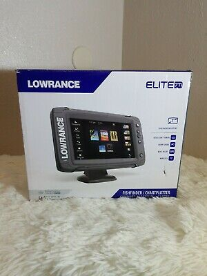 LOWRANCE ELITE-5 TI with Mid/High DownScan Imaging HDI Transducer