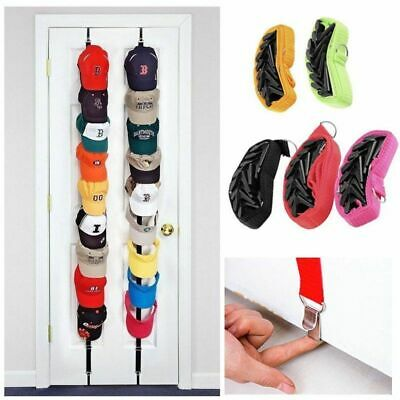 Baseball Cap Rack Hat Holder Rack Home Organizer Storage Door Closet Hanger S4