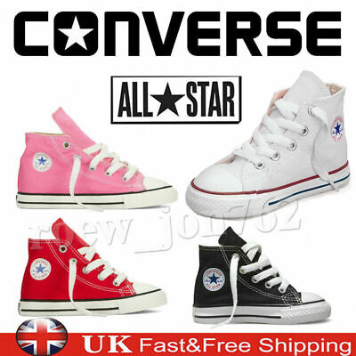 Multi-Use All Star Lo Top Kids Child Unisex Chuck Taylor Trainers Pumps Shoes UK