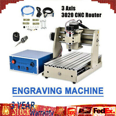ROUTER CNC3020 4-AXIS CNC 3020 ENGRAVER DRILLING MILLING MACHINE +