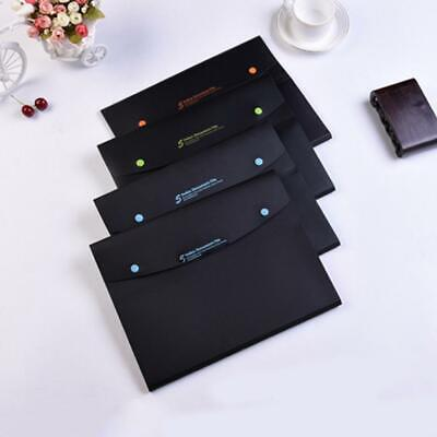 A4 Waterproof Document Bag Zipper File Pocket Organizer Storage School Office