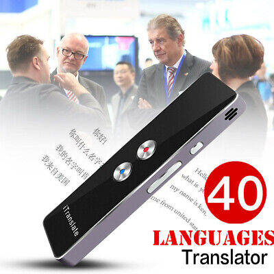 T8+ Translaty MUAMA Enence Smart Instant Real Time Voice 40Languages Translator.