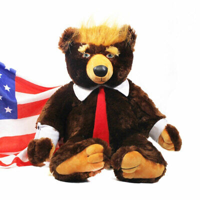 Toy Bear Donald Trump Bears Plush Toys President Trumpy Bear for Kids Cool Toy