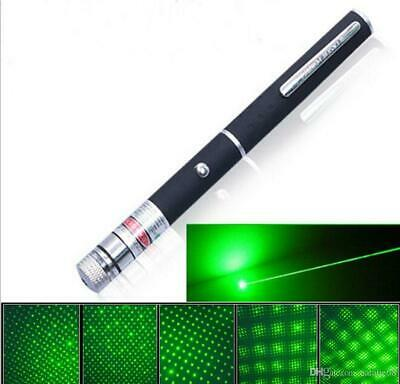 Penna Puntatore Laser Luce Verde 1mW Legale Pointer Professionale Astronomico