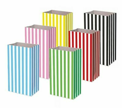 Pick And Mix Paper Bags Candy Stripe Bags Sweet Gift Party Sweets Wedding