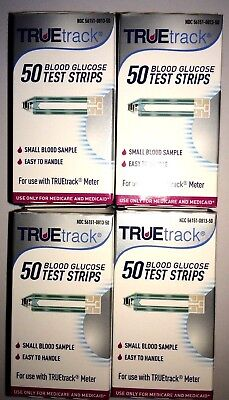 TRUETrack Blood Glucose (200) Test Strips *Special Time* Expiration: 12/21/2020