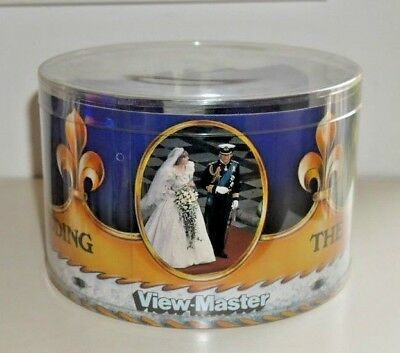 Viewmaster Royal Wedding Charles & Diana 1981 Purple Viewer & Reels Rare  C669