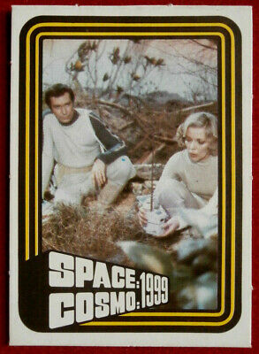 SPACE / COSMO 1999 - MONTY GUM - Card #02 - France 1976