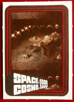 SPACE / COSMO 1999 - MONTY GUM - Card #12 - France 1976