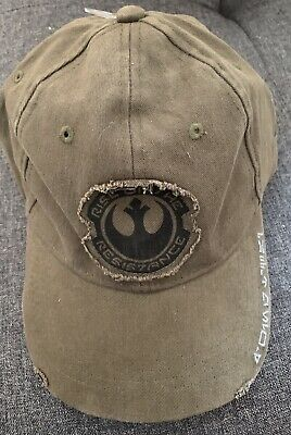 Disney Parks Star Wars Galaxy's Edge Rise Of The Resistance Adult Cap NWT
