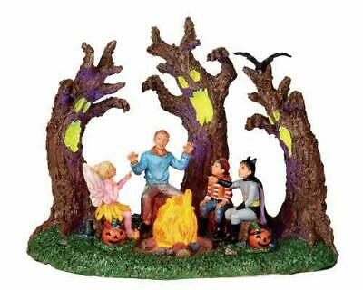 Lemax Spooky Town SCARY STORIES #04217 NRFB Halloween Village b/o Table Accent *