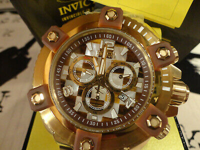 Invicta 27777 Reserve Grand Octane Mosaic 63mm MOP/Tiger Eye Bracelet Watch New!