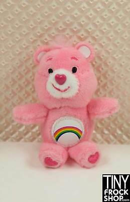 Barbie Worlds Smallest Plush Care Bear - New in Package Cheer