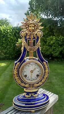 Antique Marie Antoinette Mantel Clock
