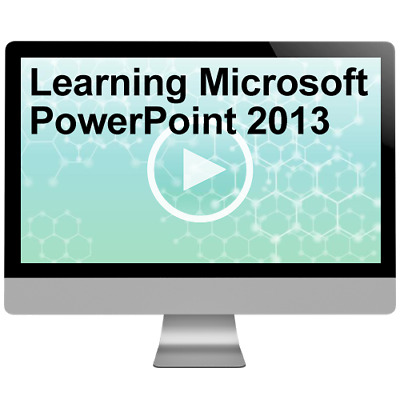 Learning Microsoft PowerPoint 2013 Video Training Course