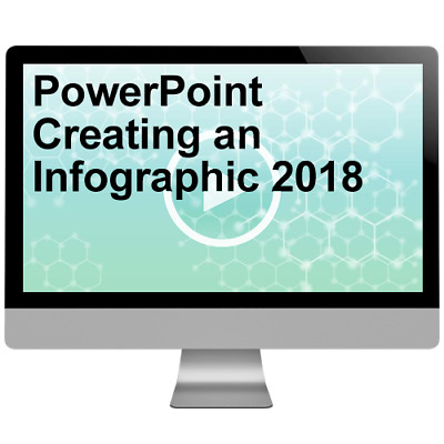 PowerPoint Creating an Infographic 2018 Video Training