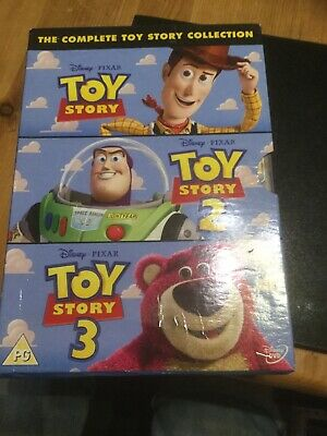 Toy Story 1-3 - Collection (DVD, 2010, 3-Disc Set, Box Set)