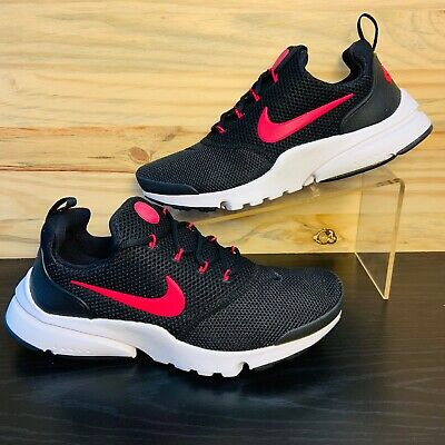 check out bb02e 0a22e NIKE PRESTO FLY Women's Running Shoes Black Pink Sizes 7.5, 8.5 New  913967-001