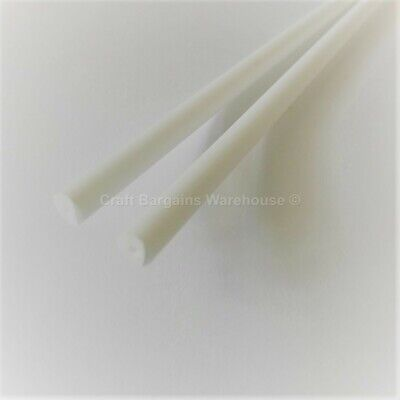 "2 x 8"" CAKE DOWELS Dowel Rods Support Tiered Cakes Wedding Sugarcraft"
