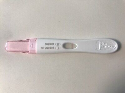 positive pregnancy test results first response