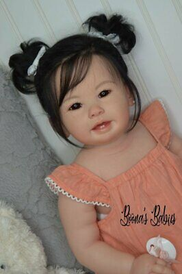 CUSTOM ORDER! Reborn Asian Doll Baby Girl Toddler Teegan by Ping Lau New Release