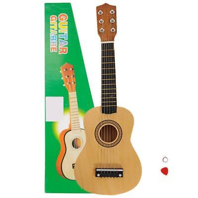 """21"""" Acoustic Guitar Beginners Kids Musical Instrument with Pick + String"""