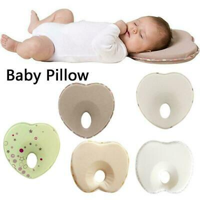 Prevent Support Anti Roll Memory Foam Pillow Baby Infant Flat Head Newborn E2T6
