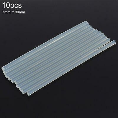 10pcs 7mmx190mm Hot-melt Gun Glue Sticks Gun Adhesive DIY Tools for Hot-melt Gun