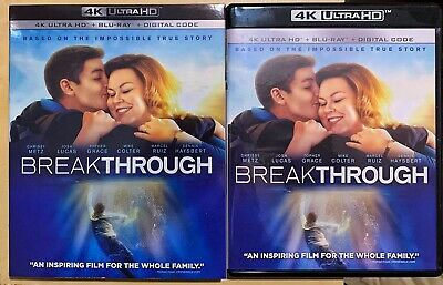 Breakthrough (4K & Blu-ray) Chrissy Metz - Like New W/slipcover & Digital Copy