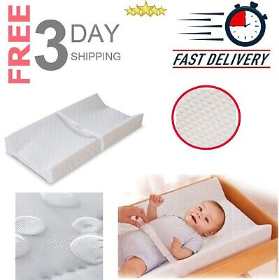 """Summer Infant Contoured Changing Pad Waterproof Safe 2 Sided Contour 16"""" x 32"""""""