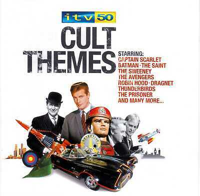 ITV 50 - Cult Themes (2005) 2 x CD Album