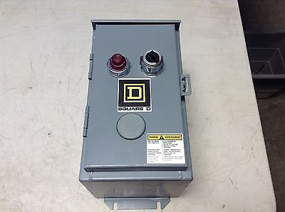 Square D 8903 SMA2 C6P1 Lighting Contactor Box 8903SMA2 8903SMA2C6P1 SM02 New